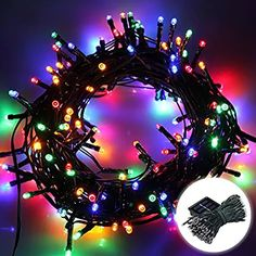 Lights & Lighting 10m Holiday Lights Solar Rainbow Tube Light String Fairy Tale Christmas Decoration Lights Outdoor For Wedding Party Decorative Carefully Selected Materials
