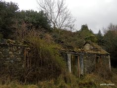 abandoned house near leenan county donegal