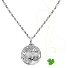 Durrow Celtic Spiral Pendant -Extra Small