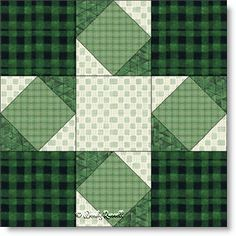 Road to Mississippi quilt block