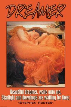 Beautiful Dreamer 28x42 Giclee on Canvas