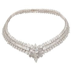 1stdibs | VAN CLEEF & ARPELS Platinum Diamond Necklace