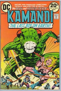 Kamandi #012 Pencils: Jack Kirby Inks: Mike Royer DC (Dec 1973)