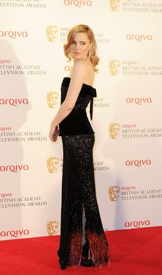 Melissa George in Armani Privé at the Arqiva British Academy Television Awards, 2012