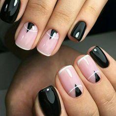 nail art negative space