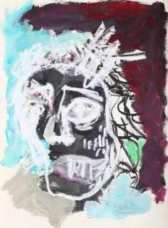 "Saatchi Art Artist Claus Bertermann; Painting, ""Man 007"" #art"