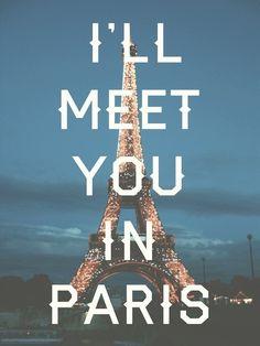 Eu te encontro em Paris