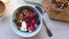 Muesli Recipe, Trifle Dish, Trifle Recipe, Easy Healthy Breakfast, Breakfast Recipes, Healthy Breakfasts, Healthy Recipes, Bbc Recipes, Health