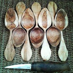 Eating spoons by Paul Adamson