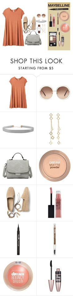 """Make Your Day Perfect"" by krnas on Polyvore featuring RVCA, Chloé, Daniel Wellington, Humble Chic, Arme De L'Amour, Maybelline, Gap, Summer and ootd"