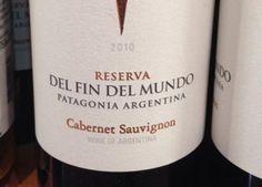 Reserva del Fin del Mundo Cabernet Sauvignon 2010 - De Vinos y Vides