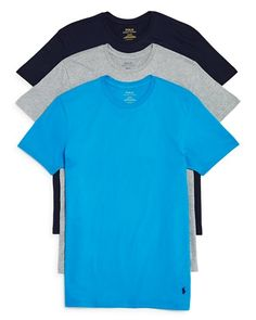 Polo Ralph Lauren Men's 3-Pack Classic Crewneck Tees $34 FREE SHIPPING OR PICK UP