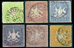 stamps colors