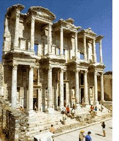 Kusadasi, Turkey - Ephesus. I'd love to go back!!