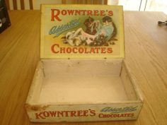 Old Rowntrees Chocolate Box