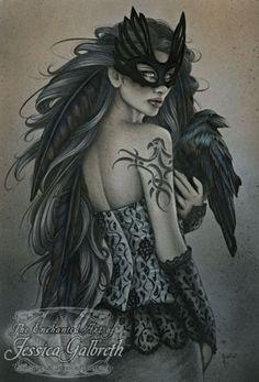 Jessica Galbreth Fairy Art | Valkyrie : Art Prints : Jessica Galbreth : Elizabeth's Crystal Garden
