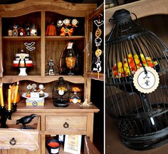 """Witch's Potion Cupboard"" Kids Halloween // Hostess with the Mostess®"