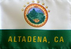Our new Altadena Flag.