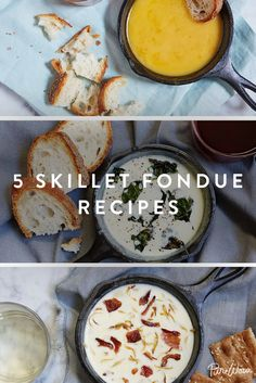 5 Skillet Fondue Recipes That Are Easy and Glorious via @PureWow via @PureWow