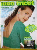 Revista Mon Tricot: Mon Tricot 106 - Janeiro 1989