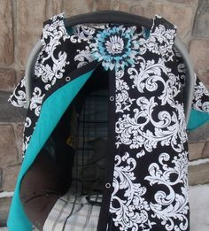 Items Similar To Carseat Canopy Cover Tent Blanket On Etsy
