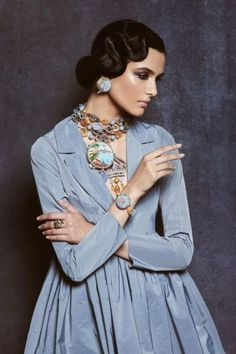 Ethno Style, Look Fashion, Womens Fashion, Bohemian Hairstyles, Taffeta Dress, Editorial Fashion, Fashion Trends, Mode Style, Fashion Sketches