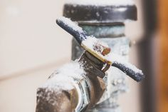 A Homeowner's Guide to Frozen Pipes | Damage from frozen pipes can leave you in a crisis. Here are some repair options, tips and more from our trusted Home Matters home repair experts. #HomeMattersBlog