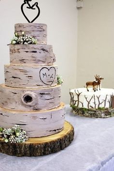 Rustic Wedding Cake | pleasureweddingz.compleasureweddingz.com