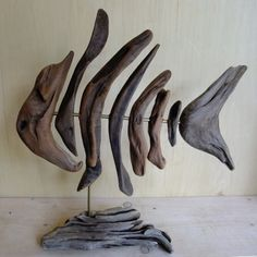 Abstract pieces of driftwood composed to create distinguishable art forms full of personality and charm To purchase or reserve any of the above sculptures, please contact nigel@woodenzone.com or ph…