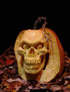 Fabric Traditions Halloween Spooky Skull /& Pumpkin Candle Damask w// Glitter BTHY