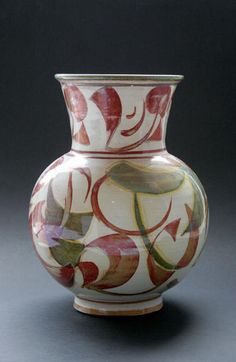 Baluster Vase by Alan Caiger Smith  at the The Scottish Gallery, Edinburgh