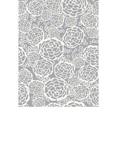 Petal Pusher (Gray) Wallpaper tiles
