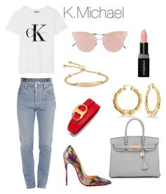 37 by k-michael on Polyvore featuring polyvore, fashion, style, Calvin Klein, Vetements, Christian Louboutin, Hermès, Tory Burch, Monica Vinader, So.Ya, Smashbox and clothing