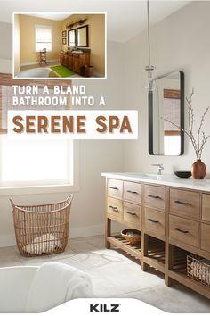 Home Room Design, Bathroom Interior Design, House Design, Upstairs Bathrooms, Master Bathroom, Master Bath Remodel, Beautiful Bathrooms, House Rooms, Bathroom Inspiration