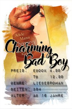 Rezension: Charming Bad Boy – MonaWest-Buchgeflüster