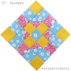 verykerryberry: Farmer's Wife QAL 37 and 38: Georgia and Golda