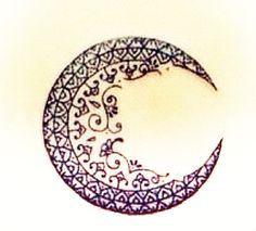 Crescent Moon Designs Beautiful tattoos, moon design
