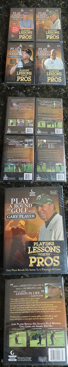 Other Golf Training Aids 14109: Play A Round Of Golf Dvd Daly, Player, Mccord, O Meara Instructional Videos -> BUY IT NOW ONLY: $44.95 on eBay!