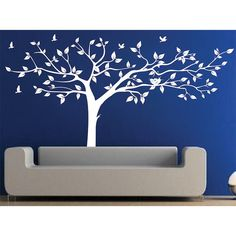 Style And Apply Flock Of Birds Wall Decal Color Pastel Orange - How to put up a tree wall decal