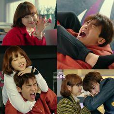 Omg so freakin adorbsss Korean Drama Movies, Korean Actors, Korean Dramas, Strong Girls, Strong Women, Kdrama, Ahn Min Hyuk, Strong Woman Do Bong Soon, Park Hyung Shik