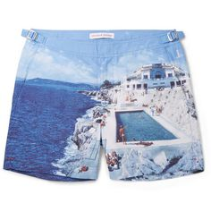 Olebar Brown swim shorts on RoomCritic Gift Guide #roomcritic from @mrporterlive