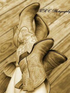 Mommy/daughter cowgirl boots