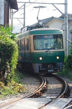 江ノ電- Local train-Japan