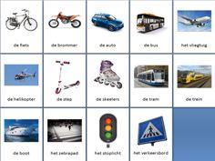 Learn Dutch, Dutch Language, Vocabulary, Transportation, Preschool, Knowledge, Learning, Teacher, Baby Hacks