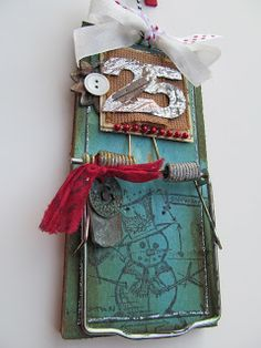 Altered Christmas Mouse Traps