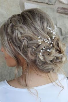 20 Stunning Wedding Hairstyles inspiration, You can collect images you discovered organize them, add your own ideas to your collections and share with other people.