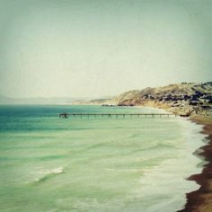 Beach photograph California San Francisco pier
