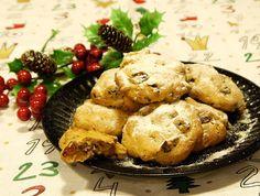 溫馨聖誕美食系列---酒漬水果餅乾