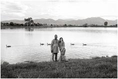 Boulder engagement photos at Davidson Mesa.  Colorado lake engagement photos by Plum Pretty Photography.