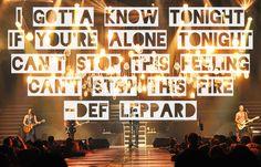 'Hysteria'- Def Leppard